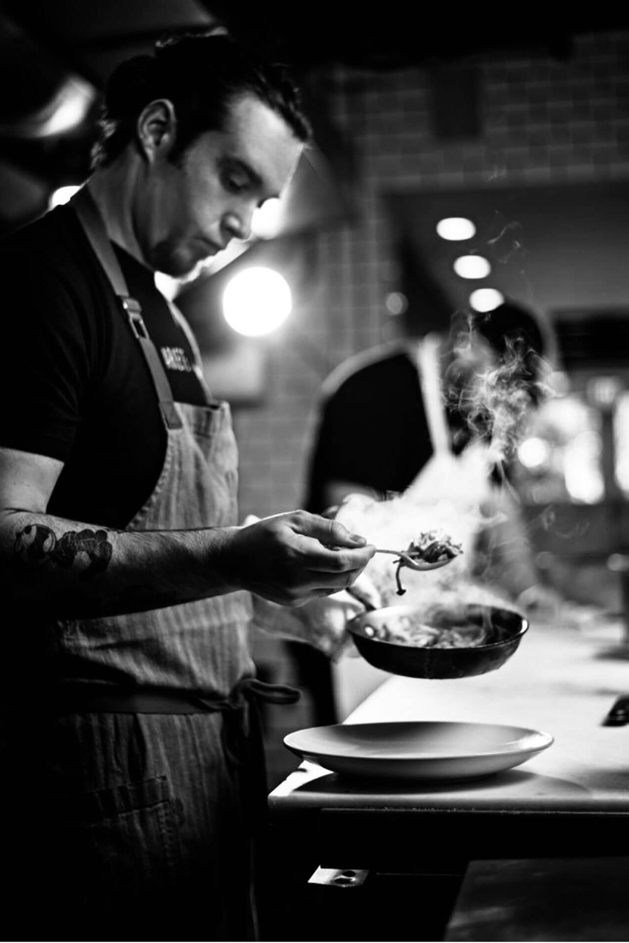 Chef Michael Beltran by James Woodley